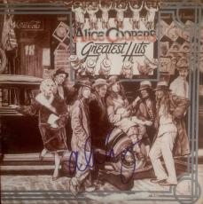 "ALICE COOPER signed ""Greatest Hits"" record album- JSA Authenticated"