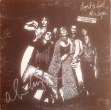 "ALICE COOPER signed ""Love it to Death"" original album-JSA Authenticated"