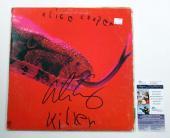 Alice Cooper Signed LP Record Album (Damaged Cover) Killer w/ JSA AUTO