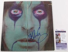 Alice Cooper Signed LP Record Album From The Inside w/ JSA AUTO