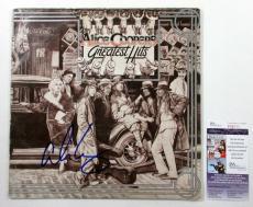 Alice Cooper Signed LP Record Album Greatest Hits w/ JSA AUTO