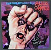 Alice Cooper Signed Raise Your Fist And Yell Album Flat PSA/DNA ITP