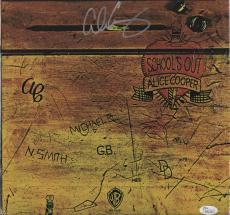 Alice Cooper Signed School's Out Record Album Jsa Coa K42153