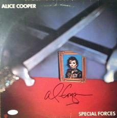 """ALICE COOPER signed """"Special Forces"""" album -JSA #I61317"""