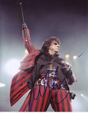 ALICE COOPER signed *The Godfather of Shock Rock* 8X10 photo W/COA Hard Rock #4