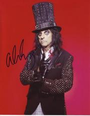 ALICE COOPER signed *The Godfather of Shock Rock* 8X10 photo W/COA Hard Rock #6