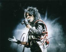 Alice Cooper signed The Godfather of Shock Rock 8x10 photo w/coa Heavy Metal #10