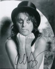 Alice Cooper signed The Godfather of Shock Rock 8x10 photo w/coa Heavy Metal #9