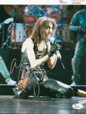 Alice Cooper signed Welcome to My Nightmare music 8x10 JSA Authenticated M74939