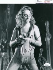 Alice Cooper signed Welcome to My Nightmare music 8x10 JSA Authenticated M74964
