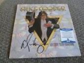 Alice Cooper Welcome My Nightmare Signed Autographed LP Album BECKETT Certified