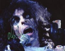 Alice Cooper Welcome To My Nightmare Signed 8X10 Photo PSA/DNA #T50638
