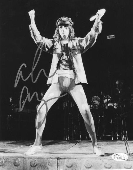 Alice Cooper Welcome To My Nightmare Signed 8x10 Photo w/JSA COA M74937