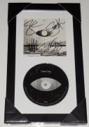 ALICE IN CHAINS AUTOGRAPHED RAINIER FOG CD (FRAMED & MATTED) - Jerry Cantrell,