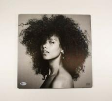 Alicia Keys Here Autographed Signed Album LP Record Certified Authentic BAS COA