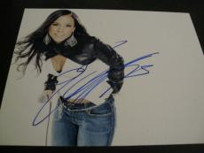 ALICIA KEYS SIGNED AUTOGRAPH 8x10 PHOTO NEW YORK IN PERSON BABE SEXY CONCERT F