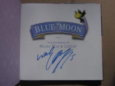 Alicia Keys signed book Blue Moon From the Journals of Mama Mae LeeLee PSA/DNA
