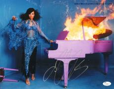 ALICIA KEYS (Smokin Aces) signed 11x14 photo -JSA I61483-