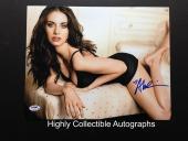 Alison Brie Signed 11x14 Photo Autograph Psa Dna Coa Community Mad Men