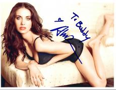 Alison Brie Signed Autographed 8x10 Photo Mad Men Community Sexy Hot COA VD