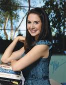 Alison Brie Signed Community 8x10 Photo w/COA Sexy Annie Edison #2
