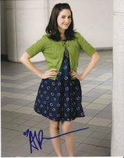 Alison Brie signed Community 8x10 photo W/Coa Sexy Annie Edison #6
