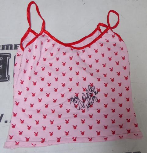 Alison Waite Signed Playboy Night Shirt PSA/DNA COA May 2006 Playmate Autograph