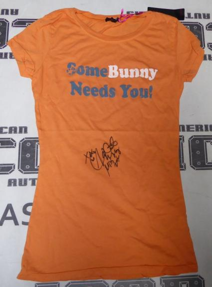 Alison Waite Signed Playboy Some Bunny Shirt PSA/DNA May 2006 Playmate Autograph