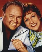 All In The Family Cast Carroll O'connor & Stapleton Signed Autographed Photo