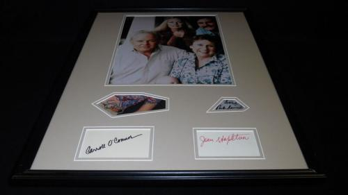 All in the Family Cast Signed Framed 18x24 Photo Display