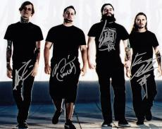 All Shall Perish Group Signed 8x10 Photo w/COA This is Where It Ends #2