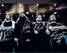 All Shall Perish Group Signed 8x10 Photo w/COA This is Where It Ends