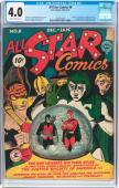All Star Comics #8 Cgc 4.0 1941 1st Appearance Of Wonder Woman Cgc 1293051001