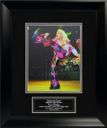 Allan Dines Autograph Photo David Lee Roth Van Halen 13×16