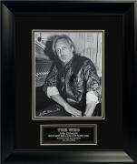 Allan Dines Autograph Photo John Entwistle The Who 13×16