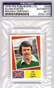 Allan Hunter Autographed 1978 Fks Publishers LTD. Card PSA/DNA #83321256