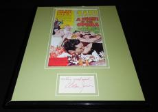Allan Jones Signed Framed 11x14 Photo Display Night at The Opera Marx Bros
