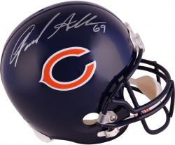 Jared Allen Chicago Bears Autographed Riddell Replica Helmet