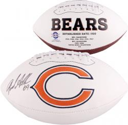 Jared Allen Chicago Bears Autographed White Panel Football