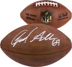 Jared Allen Chicago Bears Autographed Duke Pro Football