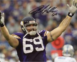 Jared Allen Autographed Minnesota Vikings 8x10 Photo