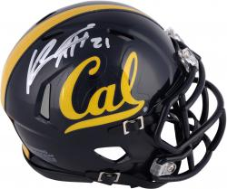 Keenan Allen California Golden Bears Autographed Riddell Mini Helmet - Mounted Memories
