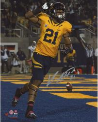 Keenan Allen California Golden Bears Autographed 8'' x 10'' Vertical TD Photograph - Mounted Memories
