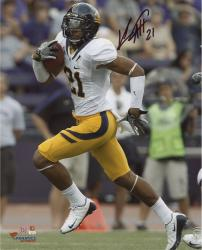 Keenan Allen California Golden Bears Autographed 8'' x 10'' Vertical Running Photograph - Mounted Memories