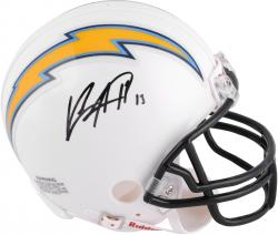 Keenan Allen San Diego Chargers Autographed Riddell Mini Helmet