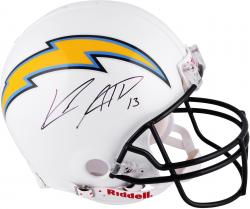 Keenan Allen San Diego Chargers Autographed Riddell Pro-Line Authentic Helmet