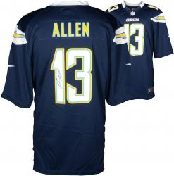 Keenan Allen San Diego Chargers Autographed Nike Game Navy Blue Jersey