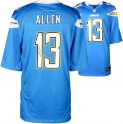 Keenan Allen San Diego Chargers Autographed Nike Game Powder Blue Jersey