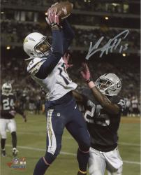 "Keenan Allen San Diego Chargers Autographed 8"" x 10"" Vertical TD Catch Photograph"