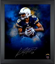 "Keenan Allen San Diego Chargers Framed Autographed 20"" x 24"" In Focus Photograph"